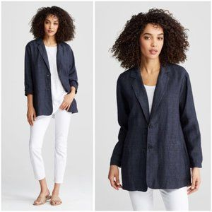 Eileen Fisher 👕Delave Boyfriend Oversized Jacket